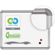 Best-Rite Green-Rite Porcelain Dry-Erase Whiteboard, Silver Presidential Frame, 1.5' x 2'