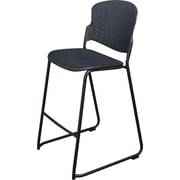 Balt® Bistro Stacking Stool, Black