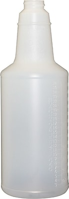 Impact® 32 oz. Plastic Bottle with Graduations, Natural (5032WG24-90)