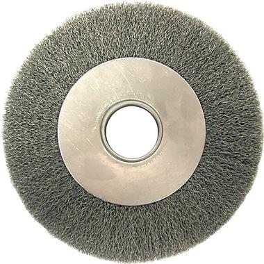 ANDERSON® 6 in (OD) 1 in (W) Face DA Series Wire Wheel Brush, 0.0118 in Wire, CS