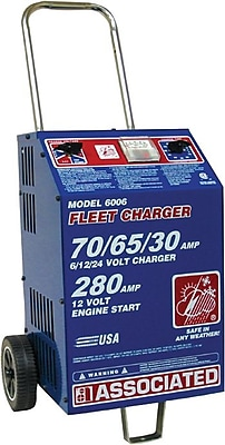 Ace™ 600 A Boost Rating Heavy Duty Commercial Fleet Charger, 6/12/24 V, 70/65/30 A