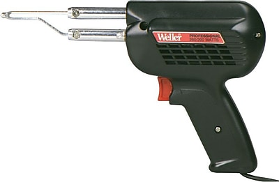 Weller® 900 - 1100 deg F Tin-Plated Copper Tip Professional Soldering Gun, 120 V, 260/200 W