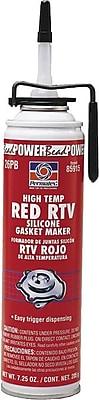 Permatex High Temperature Red RTV Silicone Gasket Maker - #26 3 oz., 12/Case