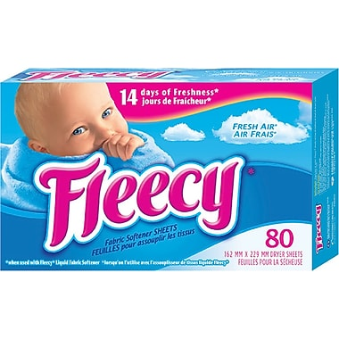 Fleecy Fresh Air Fabric Softener Sheets