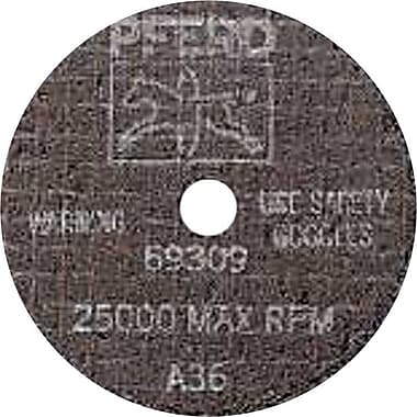PFERD 4 in (OD) x 0.035 in (T) 1 A-PS AO Cut-Off Wheel, 60 (Medium), 3/8 in Arbor