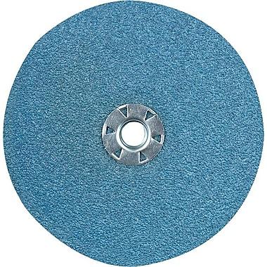 CGW® 13300 rpm Standard Resin Fibre ZrO2 Abrasive Disc, 4 1/2 in (OD), 36 (Medium)
