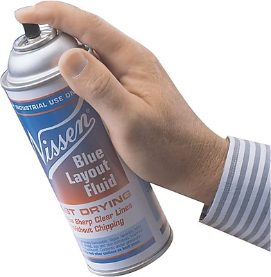Nissen® Blue Layout Fluid, Aerosol Can