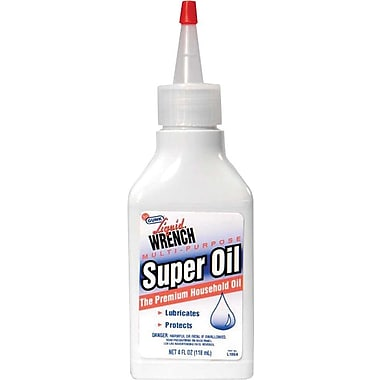 Super Oil® 265 deg F Flash Point Liquid Household Oil, 12 oz Squirt Spout Can