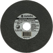 Metabo® 4 1/2 in (OD) x 0.045 in (T) 27 AO Cut-Off Wheel, 60 (Medium), 7/8 in Arbor