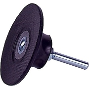 Weiler® 25000 rpm Medium Density Plastic Button Back-up Pad, 4 1/2 in (OD)