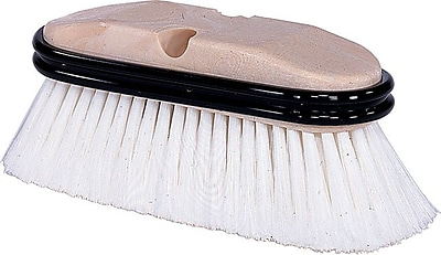 Weiler 804-44318 Truck Wash Brush, Gray Fiber Bristle