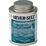 Never-Seez® Black Gray Mariners Choice Anti-Seize Lubricant, 16 oz Brush Top Can
