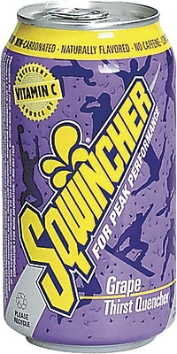 Sqwincher® 12 oz Yield Liquid Concentrate Ready-To-Drink Energy Drink, 12 oz Can, Tropical Cooler