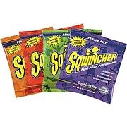 Sqwincher Powder Pack 2 1/2 gal Yield Powder Electrolyte Drink Mix, 23.83 Oz. Pack, Grape