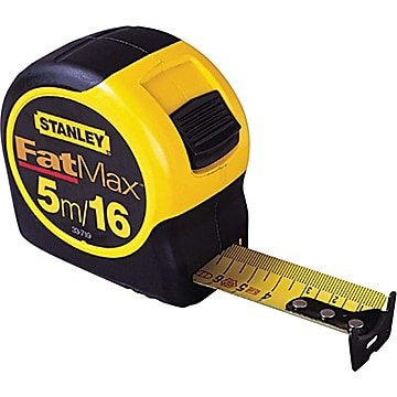 Stanley® FatMax® Reinforced w/Blade Armor™ Tape Rules, 25ft Blade