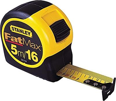 FatMax® Mylar® Polyester Steel Single Side Measuring Tape, 30 ft (L) x 1 1/4 in (W) Blade