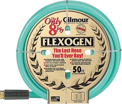 Flexogen® 3/4 in (ID) 8 ply Series 10 Garden Hose, 50 ft (L)