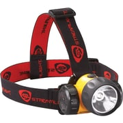 HAZ-LO® 3 AA Alkaline Yellow Head Lamp, 1 W Super High-Flux LED