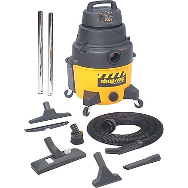 Shop-Vac® 120 V 60 Hz 9.7 A 6.25 hp Industrial Wet/Dry Vacuum Cleaner; 8 gal Capacity, 185 cfm