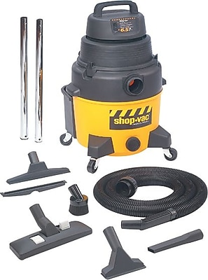 Shop-Vac® 120 V 60 Hz 9.7 A 6.25 hp Industrial Wet/Dry Vacuum Cleaner; 8 gal Capacity, 185 cfm