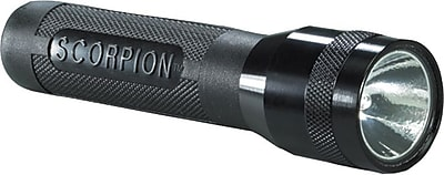 Scorpion® 2 3V Lithium Black Aluminum Flashlight, 6 V Xenon