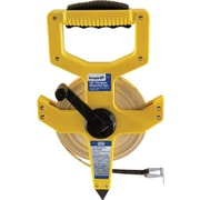 Empire® Fiberglass Single Side Measuring Tape, 300 ft (L) x 1/2 in (W) Blade