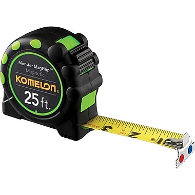 MagGrip™ Nylon Coated Steel 1 in (W) Blade Pro Series Measuring Tapes