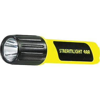ProPolymer® 4 AA Alkaline Yellow Polymer Flashlight, (7) White LED's, Box