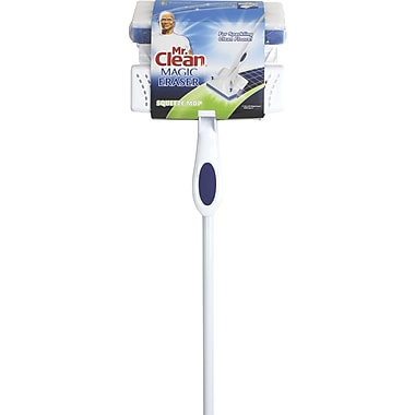 Mr. Clean® Magic Eraser Mop, Blue and White