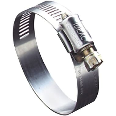 Hy-Gear® 201/301 Stainless Steel 50 Small Diameter Worm Gear Drive Hose Clamp, 3/8 - 7/8 in Capacity
