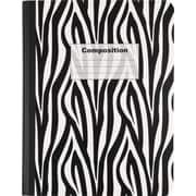 "Staples Composition Book, 9-1/2"" x 7-1/2"", Black/White, 200 Pages"
