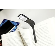 "Moleskine Rechargeable Booklight, Black, 7""H"