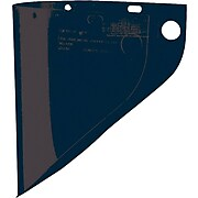 "High-Performance® Fibre-Metal® Face Shield Window, Dark Green, 9 3/4"" x 19"""