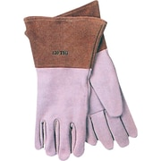 Anchor Brand® Capeskin Standard Gunn-Straight Thumb TIG Welding Gloves, White, 4 in Cuff