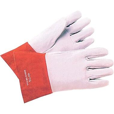 Anchor Brand® Soft Split Deerskin TIG Welding Gloves, Large, Pearl Gray