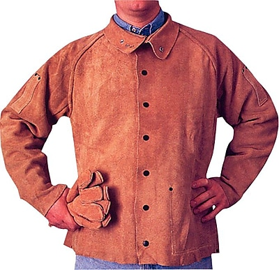 Anchor Brand® Q-Line Coat Jacket, Flame Retardant, Golden Brown, X-Large 1 Each