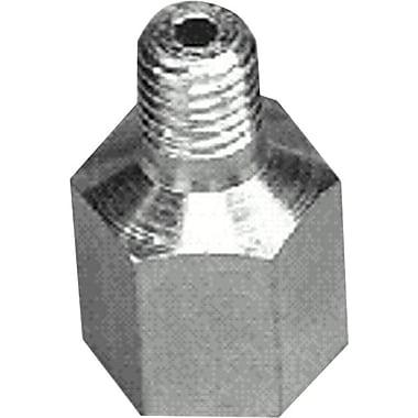 Alemite® Zinc Plated Metal 90 deg Swivel Adapter, 1/4-28 UNF Male x 1/8 in FNPTF