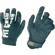 Pit Crew™ Black Synthetic Leather Automotive Mechanic's Gloves, Large