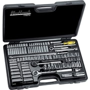 Blackhawk® Standard Socket Set, 1/4, 3/8, 1/2 in Drive, 99 pcs