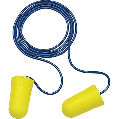 E-A-R® TaperFit®2 Yellow Foam Corded Earplug, Plus Size, 32 db