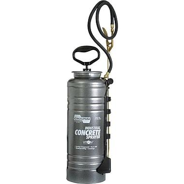 Tri-Poxy® Brass Fan Spray Nozzle Steel Pressurized Tank Open Head Concrete Sprayer, 3 1/2 gal