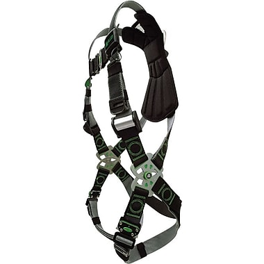 Revolution™ Stand-Up D-ring Black DualTech™ Webbing Harness, Universal