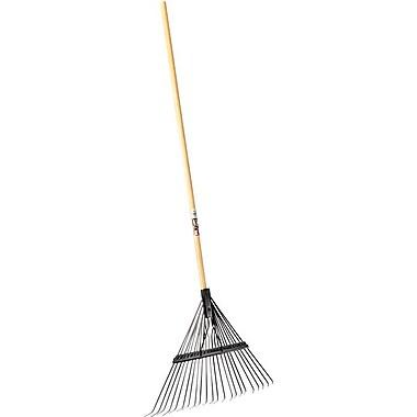 True Temper® Steel Tine Eagle Spring Brace Rake, 21 in (W) x 1 1/2 in (H) Blade, 61 in (L)