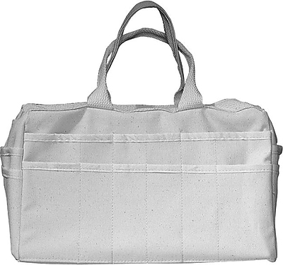 Alta® Canvas Organizer Tool Bag, 24 Compartments, 9 1/4 in (H)