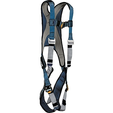 Exofit™ D-Ring Back Blue/Navy Polyester Stretchable Harness, Medium, 420 lb