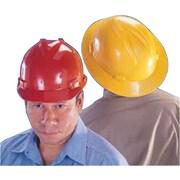 V-Gard® Polyethylene Small Slotted Hard Cap, White, Fas-Trac® Ratchet Suspension