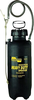 Chapin™ Fan Spray Nozzle Polyethylene Heavy Duty Sprayer With Viton Seal, 3 gal