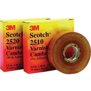 Scotch® Yellow Cotton Cloth Backing Insulating Electrical Tape, 3/4 in (W), 60 ft (L), 8 mil (T)
