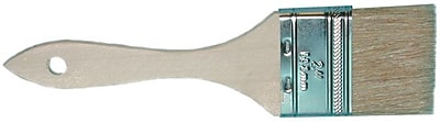 Magnolia Smooth Sanded White Bristle Chip Paint Brush, 1 1/2 in (L) Trim, 4 in (W)
