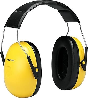 Peltor® Optime 98 Over The Head Standard Earmuff, Yellow, 25 dB